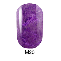 Гель-лак Naomi Metallic Collection M20, 6 мл