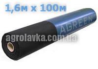 Агроволокно пл.50г/кв.м 1,6м х 100м перфорированное чёрное (AGREEN)