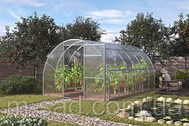Теплица Садовод -12м²(300*400*200см)поликарбонат 4мм,шаг дуги 1м