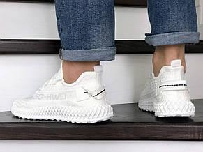 Мужские кроссовки демисезонные 5G-HWEI, белые, фото 3
