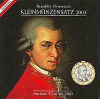 Австрия 2003. Официальный годовой набор монет, фото 1