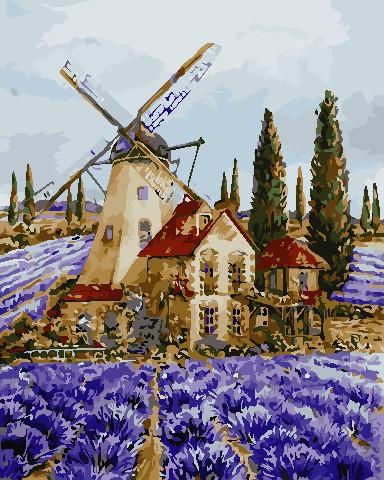 Картина по номерам ArtStory Где-то в Провансе (AS0704) 40 х 50 см
