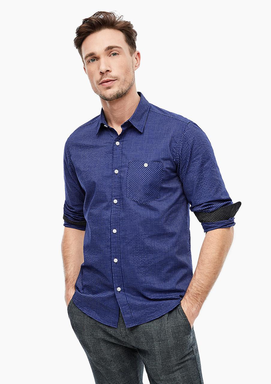 Рубашка s.Oliver 13.911.21.2751 синий