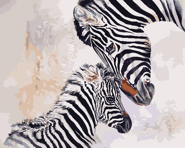 Холст для рисования ArtStory Мать и дитя (AS0718) 40 х 50 см