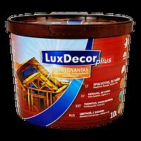 Пропитка імпрегнант для дерева з воском Люкс Декор LuxDecor Plius 10л