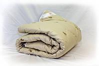 Одеяло только из 100% овечьей шерсти.Ткань бязь (Gold)