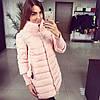 Женская зимняя курточка-плащ Premium Класс (2 цвета)
