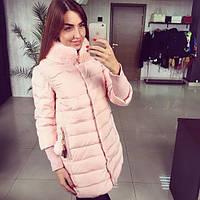 Женская зимняя курточка-плащ Premium Класс (2 цвета), фото 1