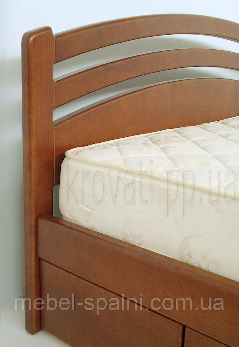 """Кровать двуспальная деревянная с ящиками """"Натали"""" kr.nt6.2"""