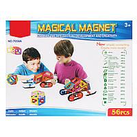 Магнитный конструктор Magical Magnet 56 деталей. Maya Toys 7056A