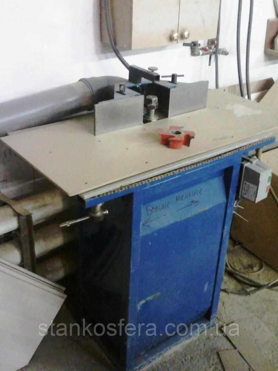 Фрезерный станок по дереву бу ФВН, мотор 3 кВт, регулировка стола