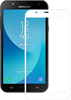 Защитное стекло Mocolo 2.5D Full Cover Tempered Glass Samsung Galaxy J7 Neo / SM-J701 Белый (73839)