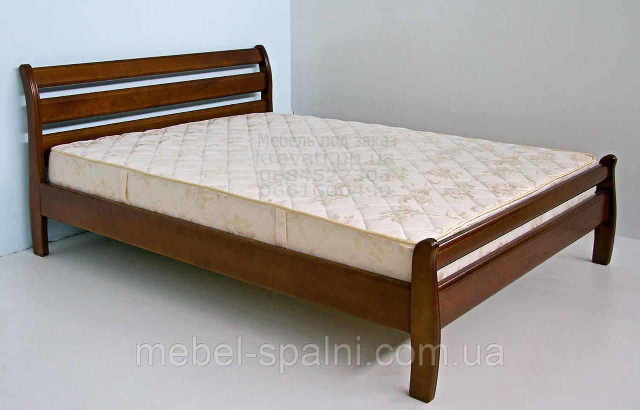 """Двуспальная кровать деревянная """"Ольга"""" kr.ol3.1"""