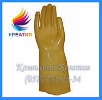 Перчатки диэлектрические бесшовные (испыт. На 9 кВ) (от 30 пар)