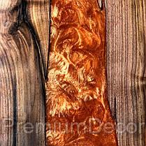 Стол из массива дерева с эпоксидной смолой река лофт мебель, фото 3