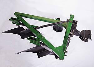 Плуг 2-20 усиленный (2х-корпусный с предплужниками на 2х-точечной сцепке), фото 2