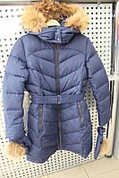Пальто девочка Snowimage junior SICBY-V713/Синий