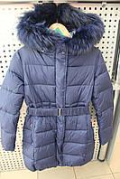 Пальто девочка Snowimage junior SICBY-V720/Синий