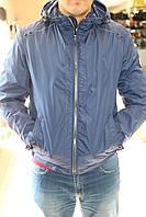 Ветровка Black VINYL W15-923/Синий