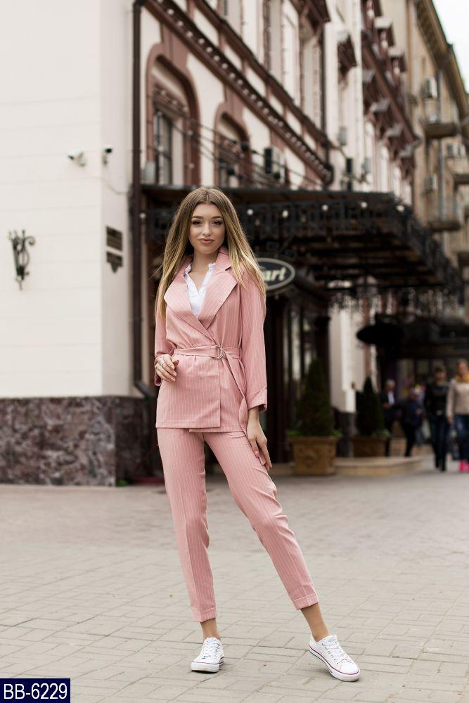 Костюм женский  пиджак и брюки размеры  42 44 Новинка есть много цветов