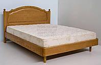 """Кровать 2 х спальная. Кровать двуспальная деревянная """"София"""" kr.sf3.1"""