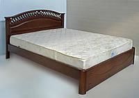 """Кровать 2 х спальная. Кровать двуспальная деревянная """"Глория"""" kr.gl3.2"""