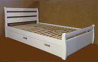 """Кровать 2 х спальная. Кровать двуспальная деревянная с ящиками """"Ольга"""" kr.ol6.1"""