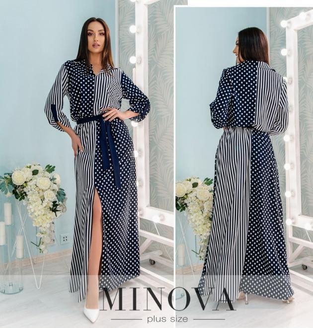 Платье в пол Minova Фабрика моды Размеры: 50,52,54,56,58,60
