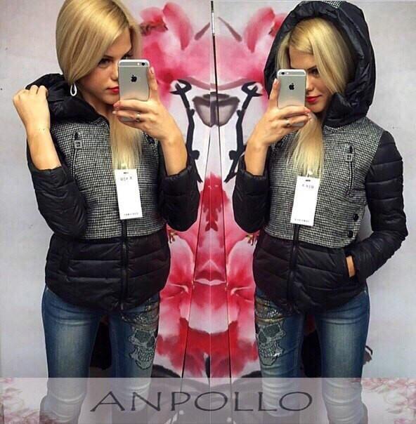 Женская куртка на синтепоне