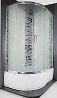 Душевая кабина SANTEH TATIANA 1115RF 115х85х195 правая, глубокий поддон, стекло узор