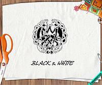 Футболка Black & White пара