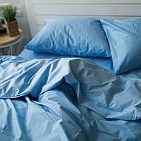 Комплект постельного белья Хлопковые Традиции Евро 200x220 Голубой