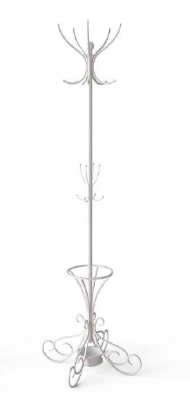 Вішалка Art-In-Head АВ-15 Ferrumon білий метал+дуб сонома