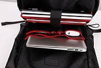 """Сучасний модний рюкзак-мішок Arctic Hunter B00283 з відділенням для ноутбука 15,6"""", 25л"""