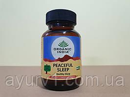 Писфул слип — здоровый и глубокий сон / Peaceful Sleep Organic India / 60 таб.