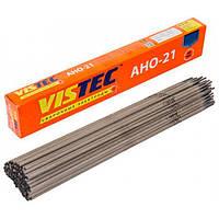 Сварочный электрод 3 мм, 2.5 кг Вистек АНО-21 (48123)