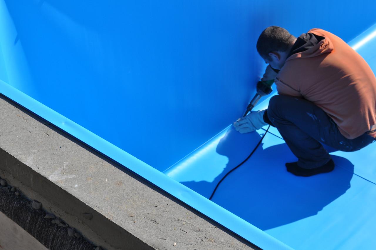 Пайка плівки (лайнер) ПВХ для басейнів та ставків