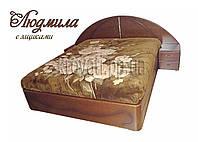 """Кровать 2 х спальная. Кровать двуспальная деревянная с подъёмным механизмом """"Людмила"""" kr.lm7.2"""