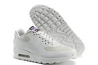 Кроссовки белые женские Nike Air Max 90 Hyperfuse USA Flag