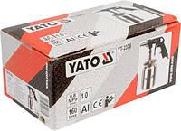Пістолет піскоструйний з бачком YATO YT-2376