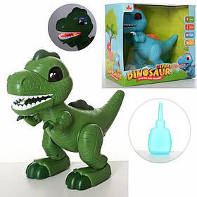 Динозавр 28311 муз, звук, світло, дим, ходить, подвиж.дет, 2цв,на бат-ке, в кор-ке, 27-27-15,5 см