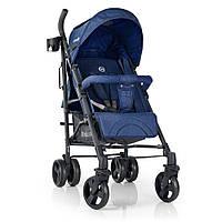 Коляска детская ME 1029 BREEZE Space Blue прогулочная, трость, колеса4шт.,синий