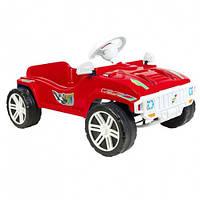 Машинка для катания ПЕДАЛЬНАЯ красная ОРИОН 792 (800x510x310 мм)
