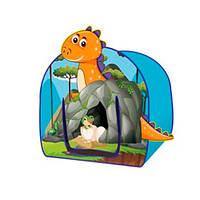Палатка M 6134  пещера дракона, 80-98-77см, на колышках, 1вход-накидка, в сумке, 37-37-4см
