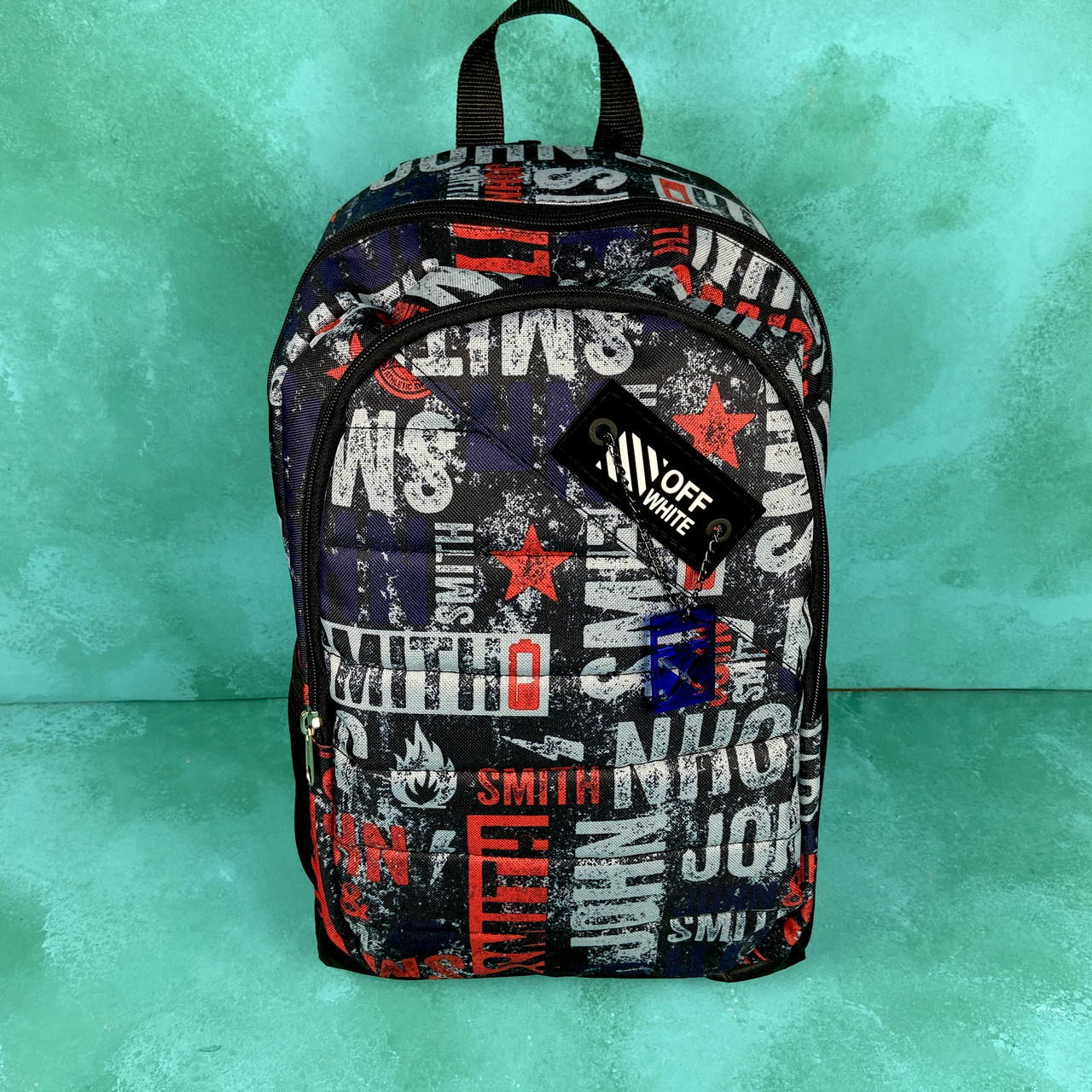 Рюкзак з принтом New York \ Off-white