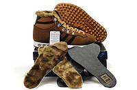 Кроссовки зимние мужские Adidas chewbacca коричневые ьные
