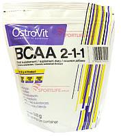 Аминокислоты OstroVit Extra Pure BCAA 2:1:1 500 грамм апельсин