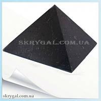 Пирамида шунгитовая 10*10 шунгитовый гармонизатор, шунгит камень, камень натуральный