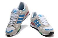Кроссовки женские Adidas Zx 750 светло-серые  женские