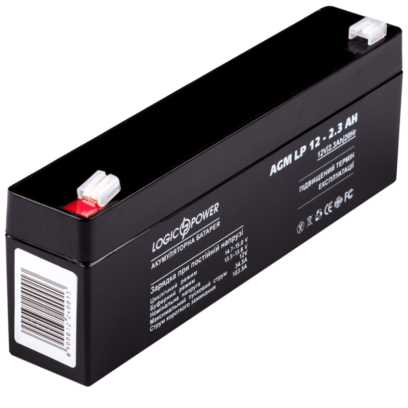 Батарея для ИБП LogicPower AGM LP 12 - 2.3 AH